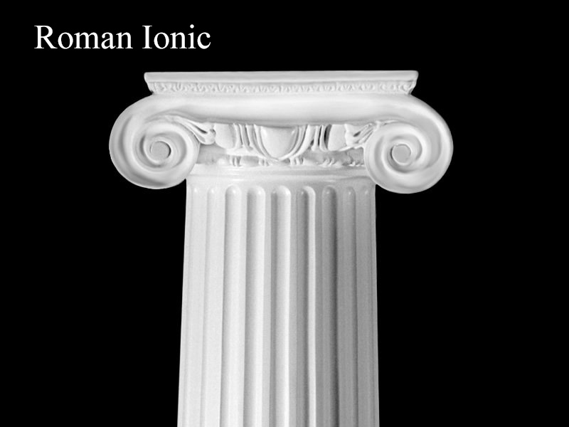 Architectural Columns And Pillars : Architectural column visual glossary