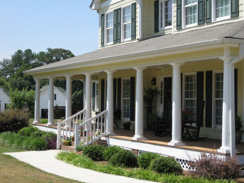 Architectural column photo gallery for Porches prices