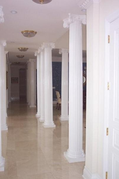 Scamozzi Columns | Interior Fluted