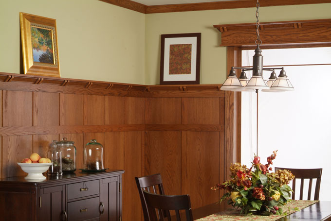 Frank Lloyd Wright Architectural Paneling