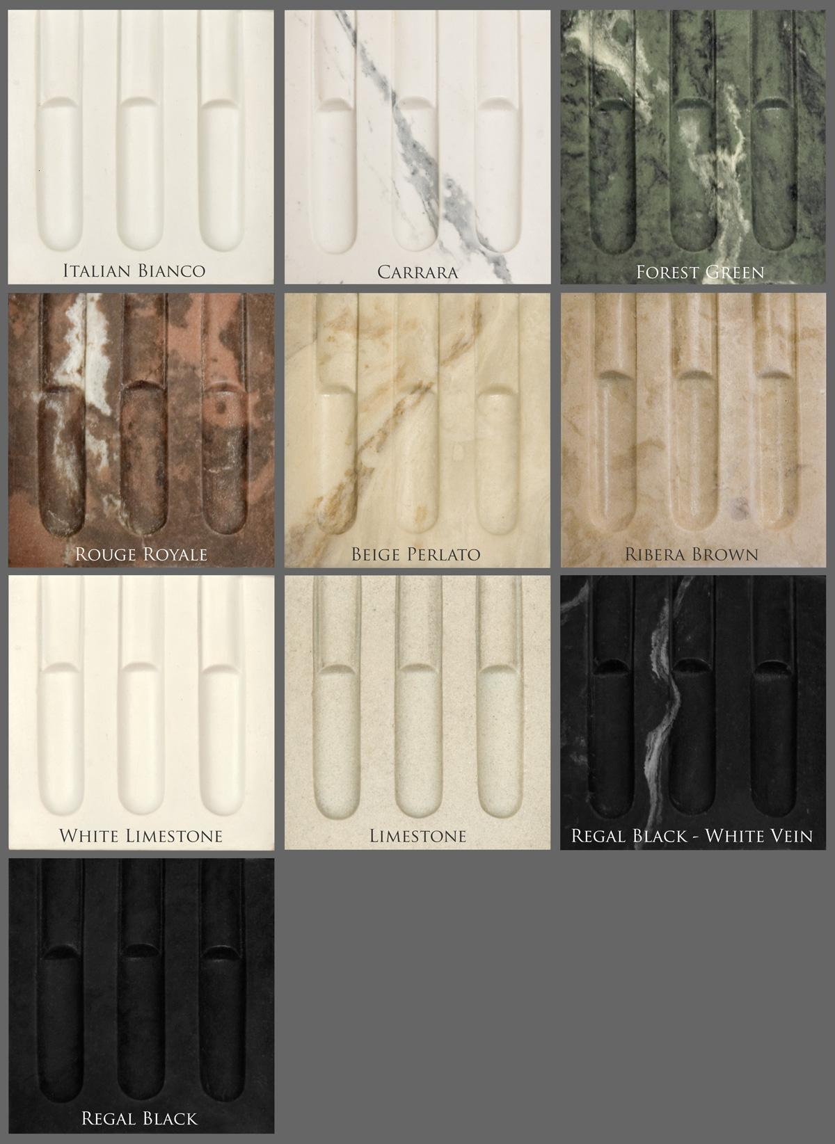 Marble Color Options
