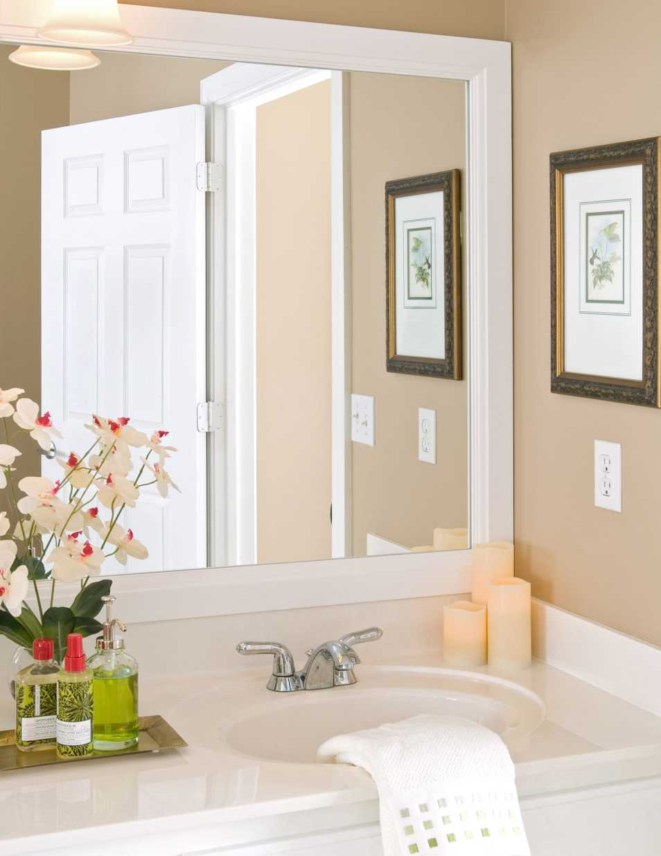 Bathroom mirror frames bathroom mirror mirror frame mirrors dublin Frames for bathroom wall mirrors