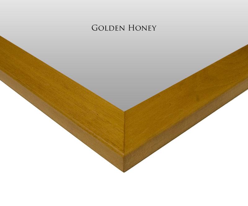 Golden Honey Mirror Frame Finish