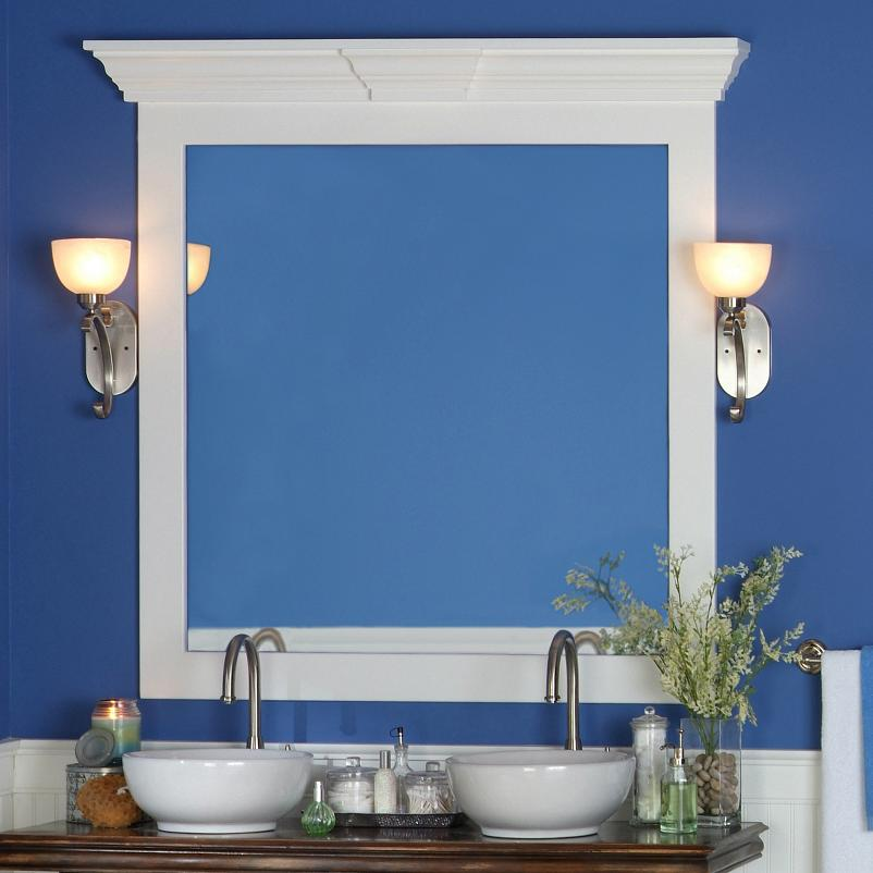 Mirror Frame | Petersburg Cornice Cap | Keystone ...