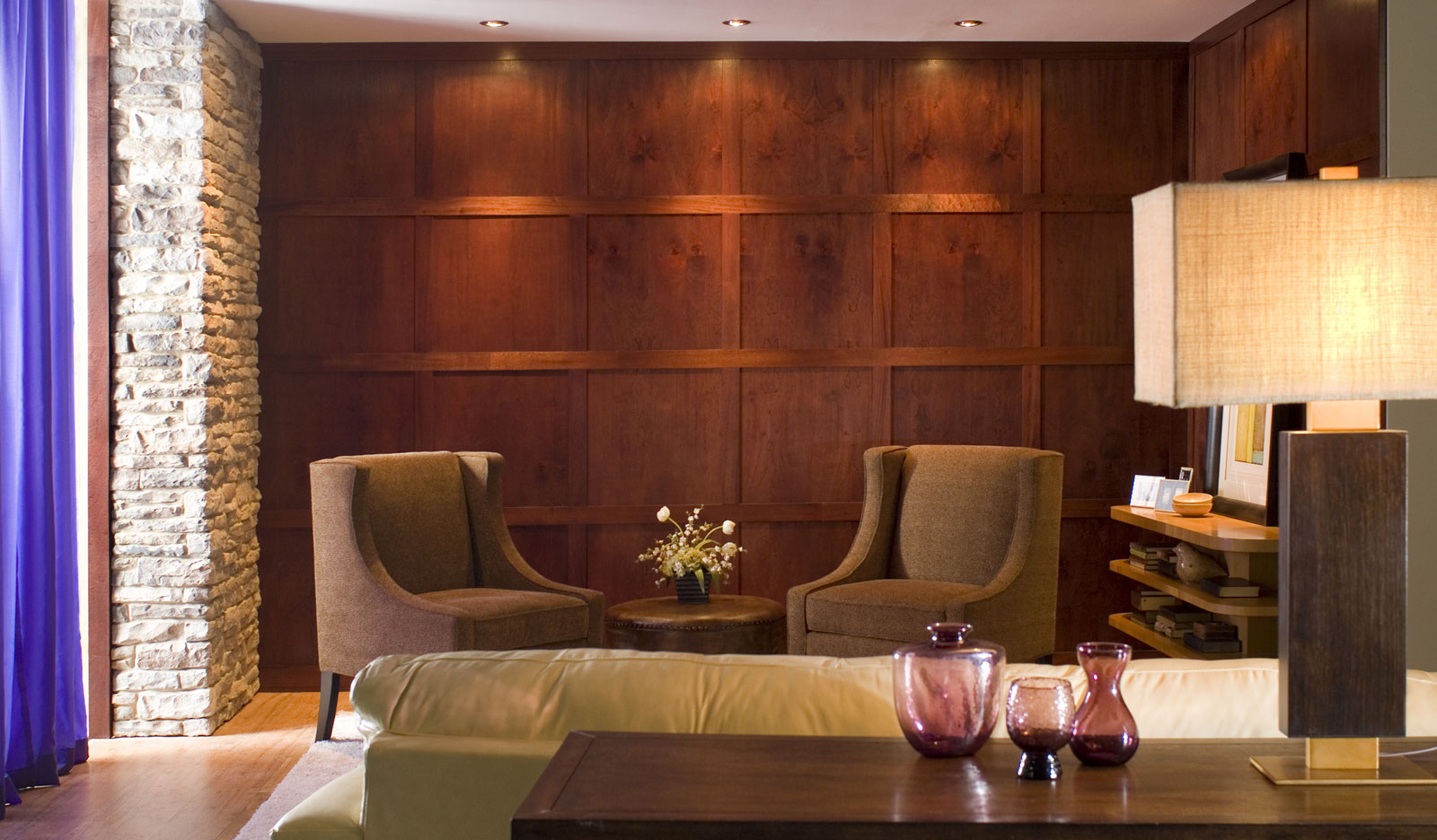 Modern Wood Paneling ~ Modern paneling contemporary wall systems