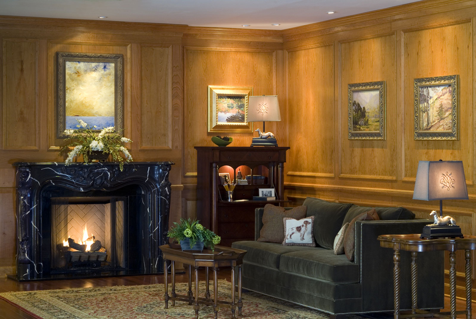 traditional raised molding paneling systems | fine wood veneers