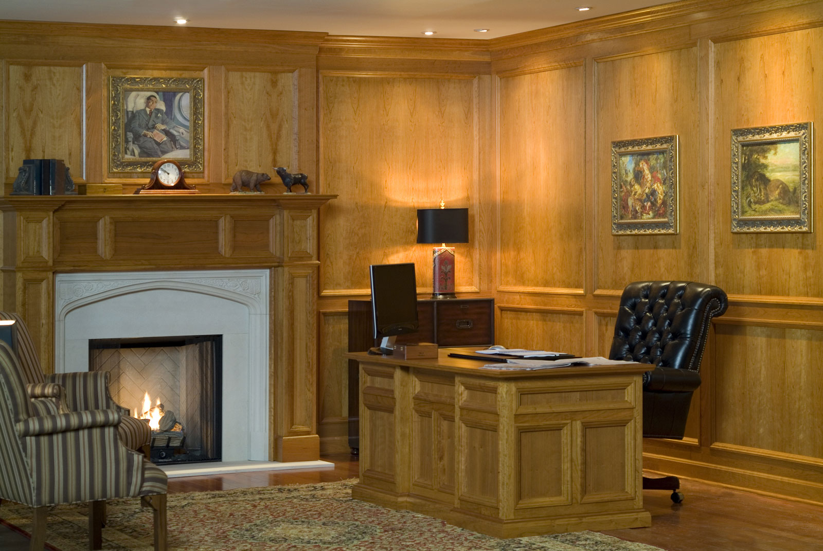 Traditional Raised Molding Paneling Systems Fine Wood