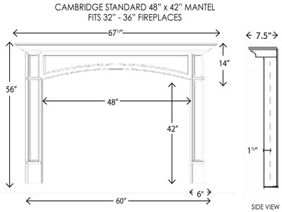 Mantle Height Affordable What Height To Mount A Mantel Ehow With Mantle Height Home Images