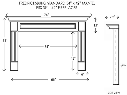 wood fireplace mantels fireplace mantels fredricksburg standard