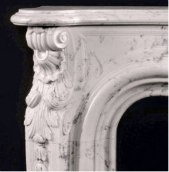 Orleans Marble Mantel