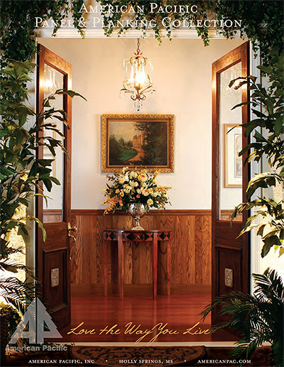 American Pacific Plywood Wall Paneling Catalog